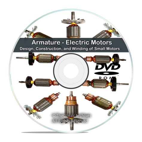 electric motors book armature electric motors design construction and winding