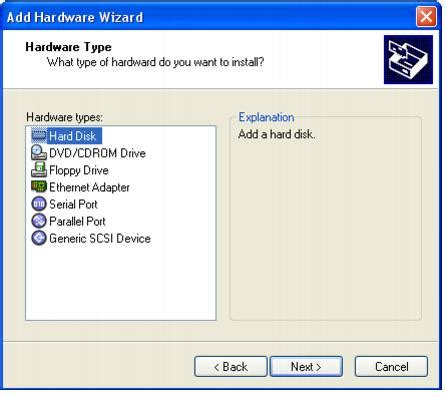 format hard disk esxi if you wish select allocate all disk space now