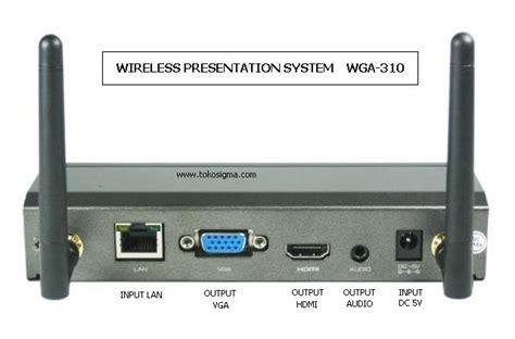 Jual Wireless Usb To Vga Adapter Kit vga hdmi wireless ezwps 310 toko sigma