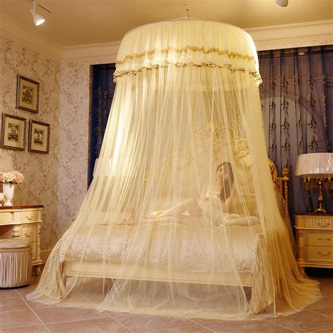 mosquito net hanging ceiling dome circular chuck