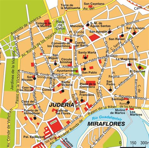 cordoba map cordoba spain on mosques cathedrals and spain
