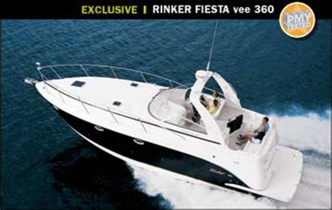 rinker fiesta vee  power motoryacht