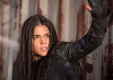 The Hundred the 100 avgeropoulos on octavia s future bellamy