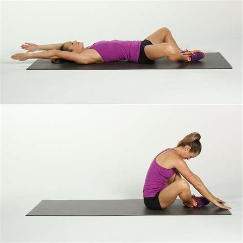 sit up transform your abs with this 2 week crunch challenge popsugar fitness
