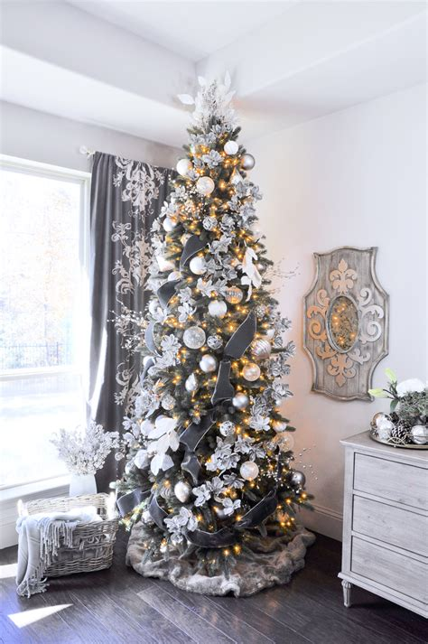 decorating for christmas with gold blue and gray home showcase decor gold designs