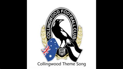 theme music club collingwood theme song with lyrics youtube