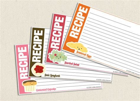 3x5 recipe card divider template food friends 3x5 inch printable recipe cards printable
