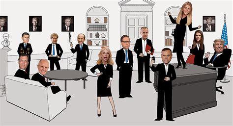 portrait of a west wing politico magazine