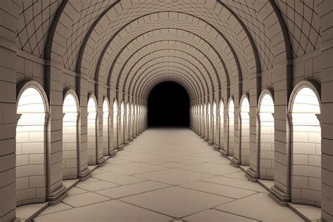 corridor wallpaper wall decor