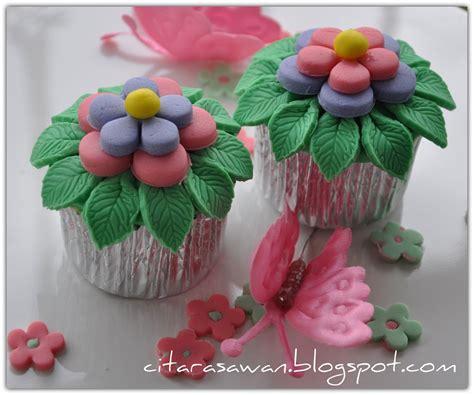 Sapu Lidi Pink 1 hiasan fondant cupcake si pasu comel fondant cupcake