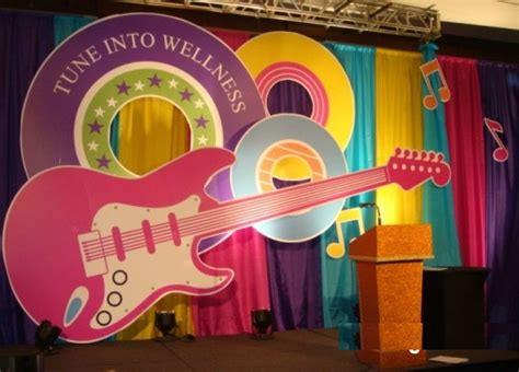 themes for college day beautiful stage decoration ideas for different school