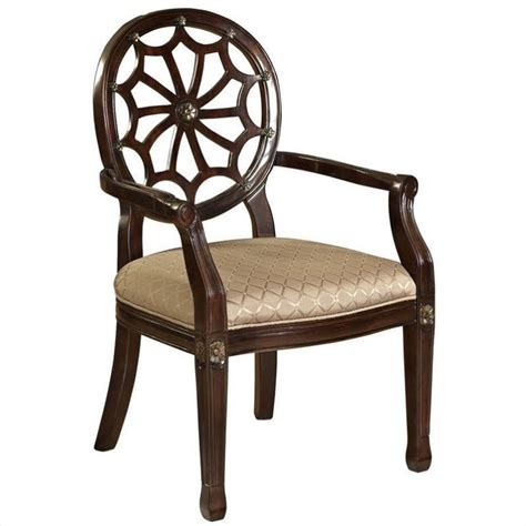 spider web chair powell furniture spider web fabric arm chair in beige