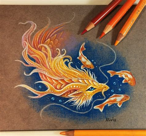 gold color pencil golden color pencil drawing by alvia alcedo 11