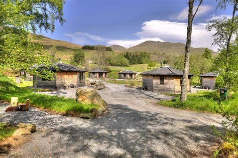 bunk bed cabins log cabin holidays loch tay highland