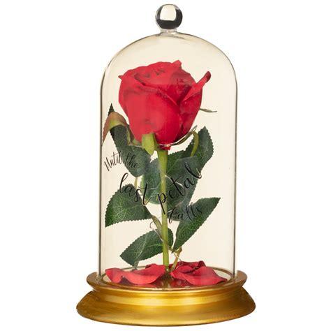 beauty  beast enchanted rose gifts bm