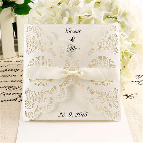 Blackpink Hw Blue 10x diy laser cut lace wedding invitations card envelope