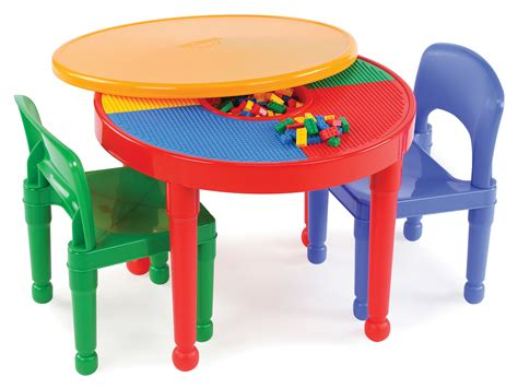 Toddler Lego Table by Tot Tutors 2 In 1 Plastic Lego 174 Compatible Activity