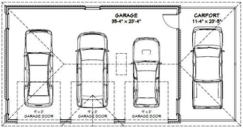 dimensions of 3 car garage best 25 2 car carport ideas on pinterest carport