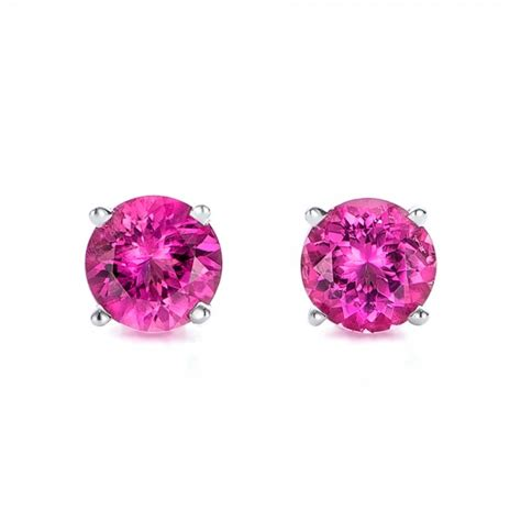 pink tourmaline stud earrings 100945 bellevue seattle