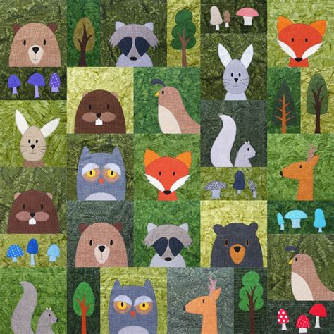 Animal Patchwork Quilt Patterns - 25 best ideas about animal quilts on