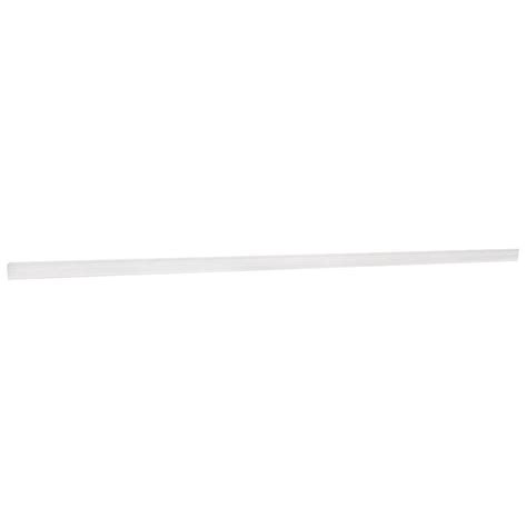 home depot crown molding for cabinets hton bay 91 5x2x2 in crown molding in satin white