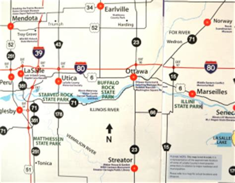 starved rock map directions maps starved rock lodgestarved rock lodge
