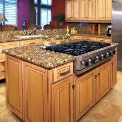 Island cook tops are perfect for large island kitchen tops you get a