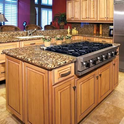 Kitchen Island Stove Kitchen Design Must From Domicile Sf