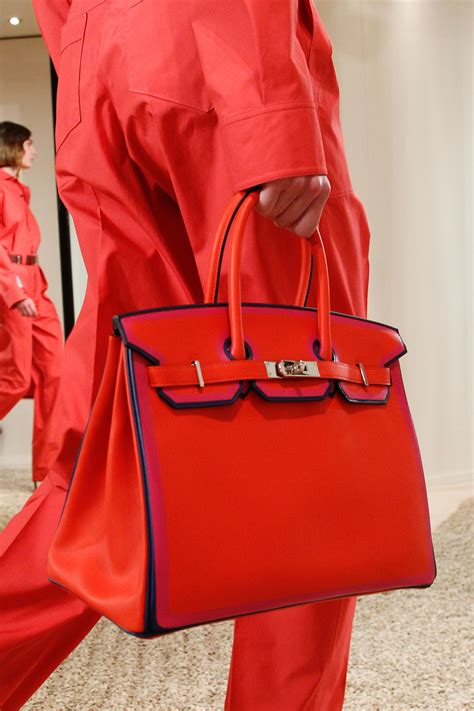 Fashion Bag Hermes hermes resort 2018 runway bag collection includes birkin