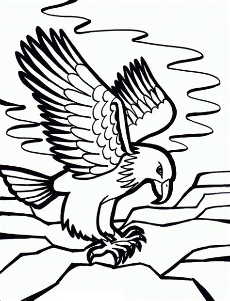 Free Printable Bald Eagle Coloring Pages For Kids Eagle Coloring Page
