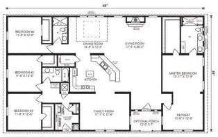 floor plans 4 bedroom 3 bath pinterest the world s catalog of ideas