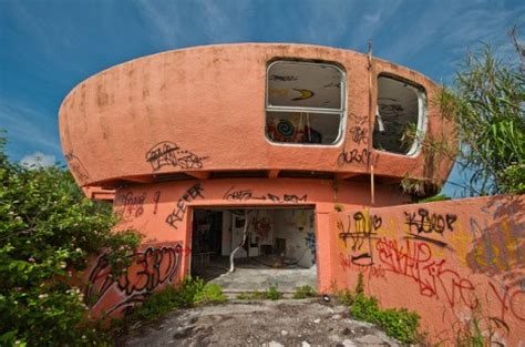 Ufo House by Abandoned Homestead Forsaken Ufo House In Florida