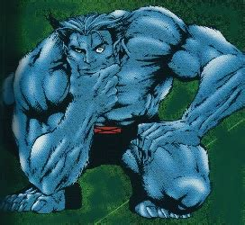 5 11 Beast Blue Black and marvel characters information about