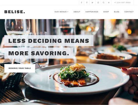 50 best wordpress restaurant themes 2018 athemes barbecue moderne fashion designs