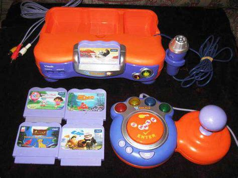 Smile Pad Joystick vtech v smile tv learning system with 2 controllers and 5
