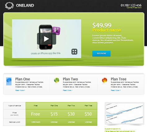 landing page with template 40 best landing page templates