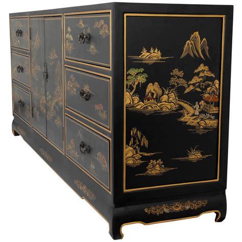 asian furniture black lacquer dresser orientalfurniture