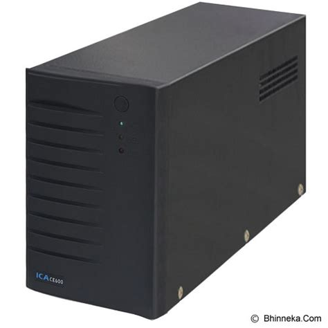 Murah Ups Uniterrupted Power Supply Ica Ce1200 jual ica ce 600 ups power backup stabilizer genset murah