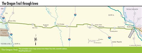 map of oregon trail in wyoming the oregon trail driving the historic route road trip usa