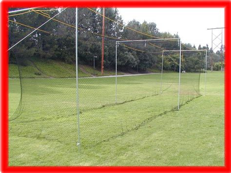 back yard nylon baseball batting cage new 50 x 12 x 12 ebay