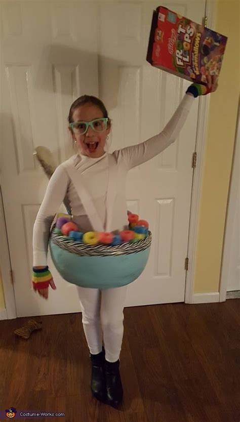 diy cereal bowl costume