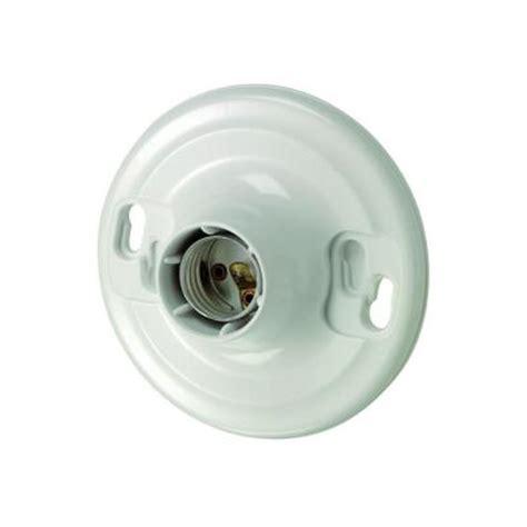 Keyless Light Fixture Leviton Plastic Keyless Lholder R50 08829 Cw4 The Home Depot