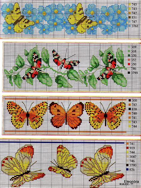 schemi punto croce farfalle e fiori grande raccolta di schemi e grafici per punto croce free
