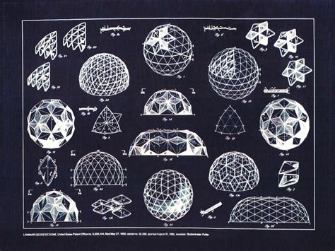 Tiny Home Plans Designs by Buckminster Fuller Geodesic Dome Plan Hannes Huybrechts