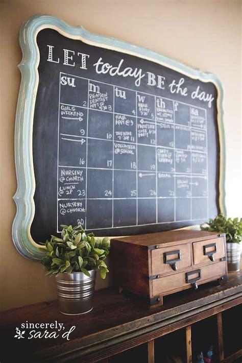 diy chalkboard wall frame diy chalkboard calendar chalkboards calendar and chalk