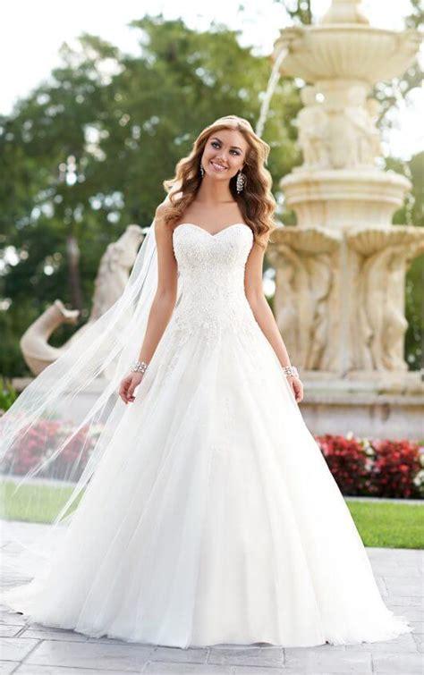 845 Line Dress a line bridal gown wedding dresses stella york