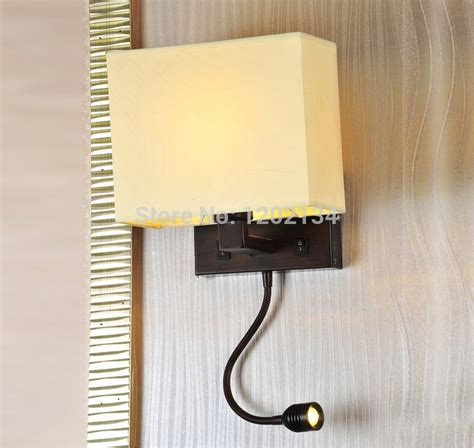 Modern Bedroom Wall Reading Light Bedside Led Wall L With Switch 1w Spotlight Reading