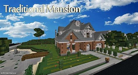 French Country Livingroom traditional mansion traditional wok minecraft project