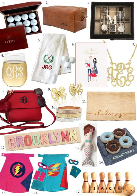 holiday gift guide personalized gifts