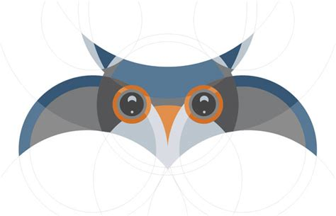 fun resume templates create an owl shaped circular grid with illustrator the